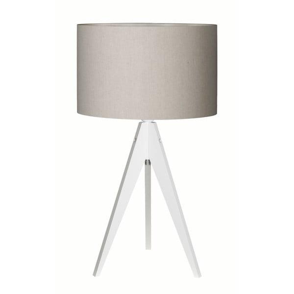 Stolní lampa Artist Birch White/Grey
