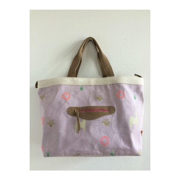 Plátěná taška Gut Lila