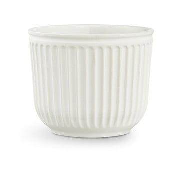 Ghiveci din ceramică Kähler Design Hammershoi Flowerpot, ⌀ 14 cm, alb de la Kähler Design