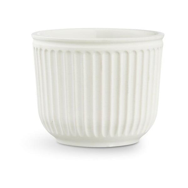 Ghiveci din ceramică Kähler Design Hammershoi Flowerpot, ⌀ 14 cm, alb