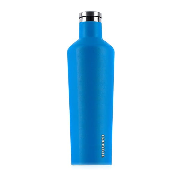 Modrá cestovní termolahev Root7 Canteen, 740 ml