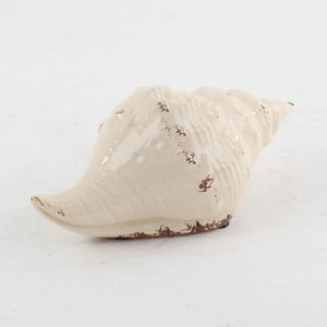 Keramická mušle, 23x11 cm