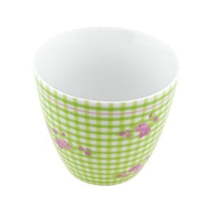 Porcelánový šálek Karo S, zelený 4 ks