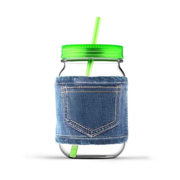 Sklenice Jeans Green