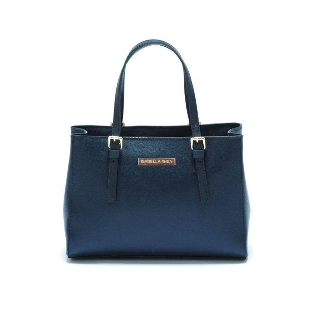 Modrá kožená kabelka Isabella Rhea Classic c231877e43a