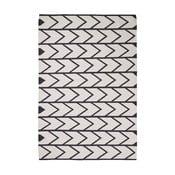 Černo-bílý koberec Think Rugs Manhattan, 120x170cm