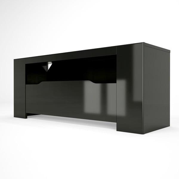 Černý TV stolek Artemob Orlando