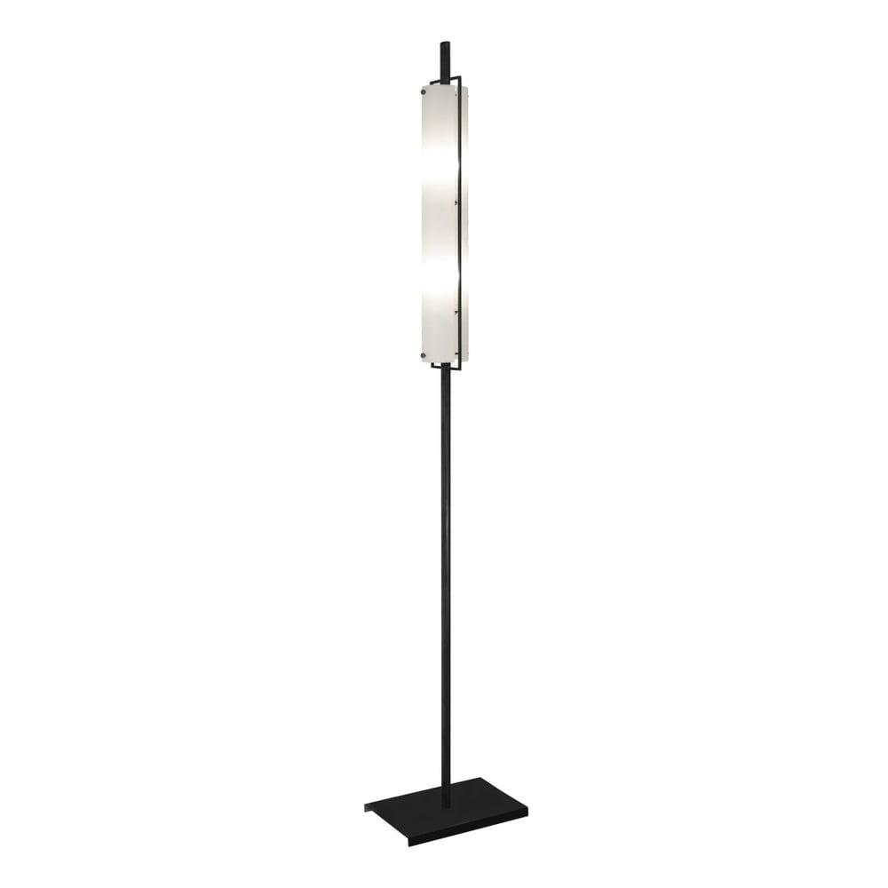 Černá volně stojící lampa Glimte Nature, výška 173 cm