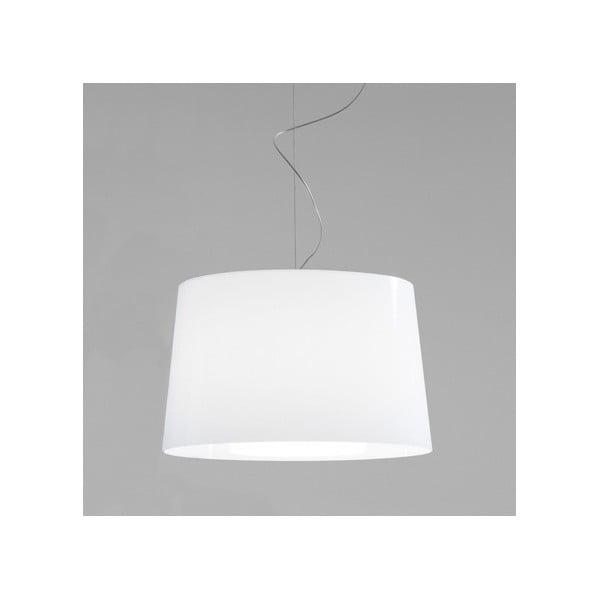 Bílé závěsné svítidlo Pedrali L001S/BA