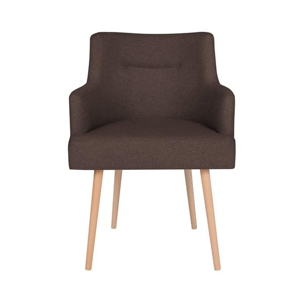 Hnědá jídelní židle Cosmopolitan Design Venice