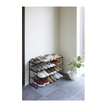Pantofar ajustabil cu 3 etaje YAMAZAKI Maebashi, negru de la YAMAZAKI