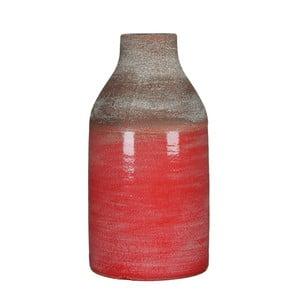Červená váza Mica Belinda, 30x16cm