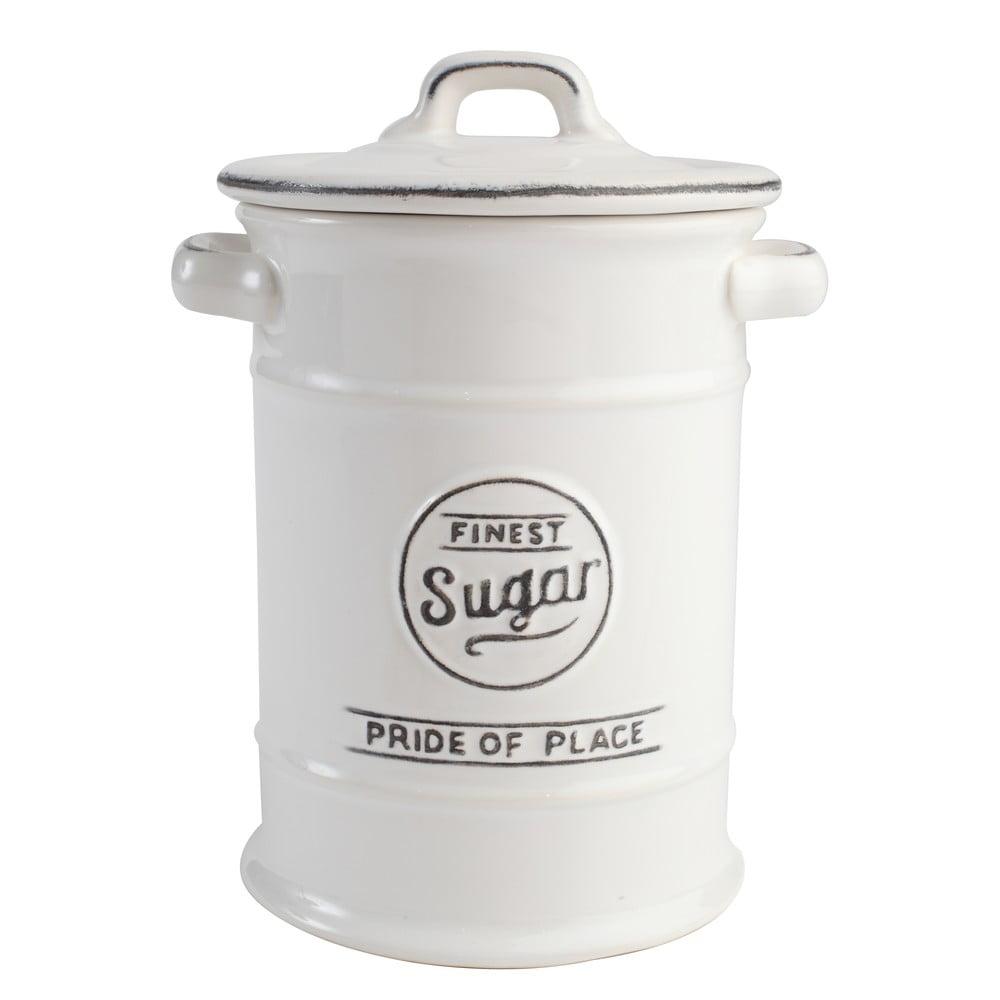 Bílá keramická dóza na cukr T&G Woodware Pride of Place