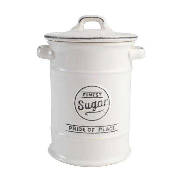 Recipient din ceramică pentru zahăr T&G Woodware Pride of Place, alb
