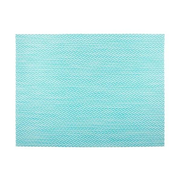 Niebieska mata stołowa Tiseco Home Studio Melange Triangle, 30x45 cm