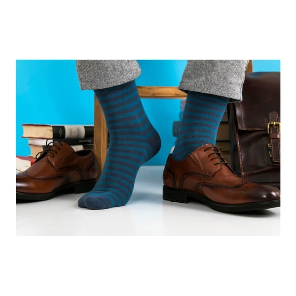 Sada 5 párů unisex ponožek Black&Parker London Trelissick Garden, velikost 37 - 43