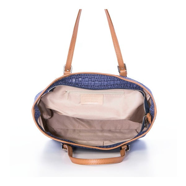 Kožená kabelka Suede Jeans
