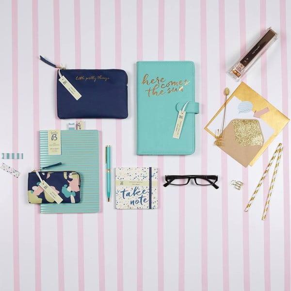 Modrý zápisník A5 BusyB New Fashion