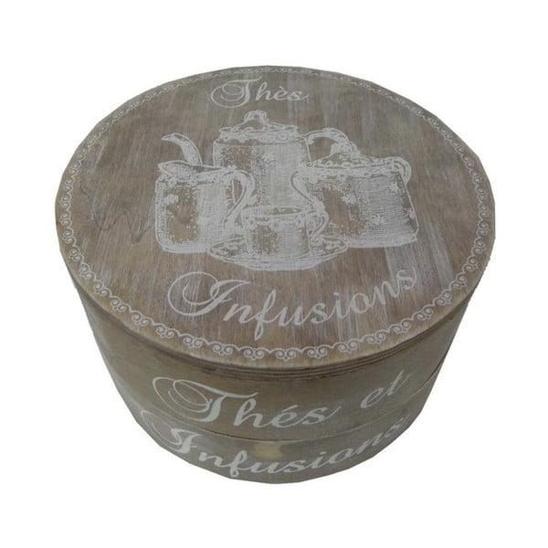Krabička na čaj Thés