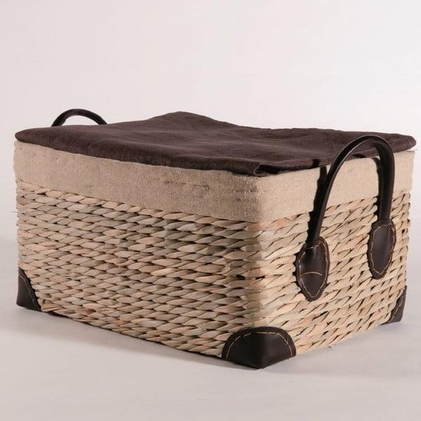 Proutěný košík Seagrass, 40x29 cm
