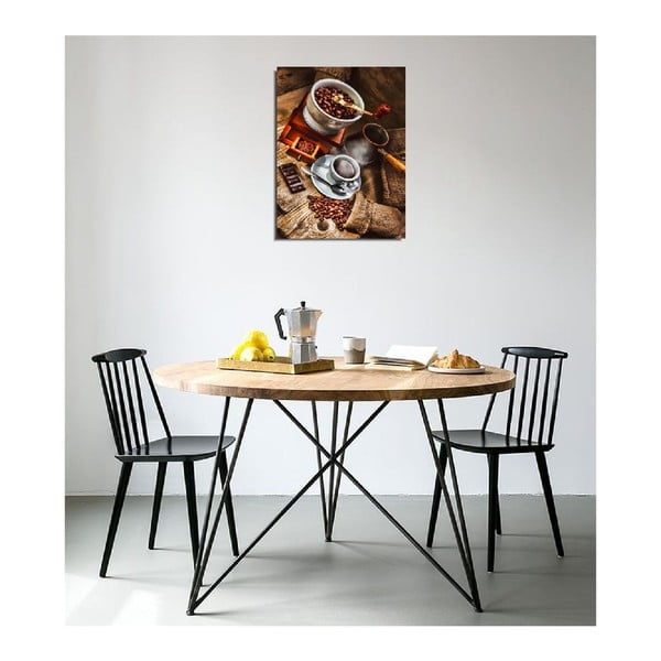 Nástěnný obraz na plátně Coffee, 30 x 40 cm