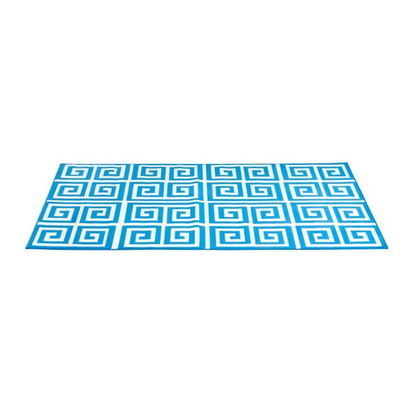 Modrý koberec Eden, 200x290 cm