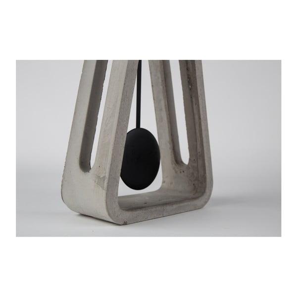 Šedé betonové stolní hodiny Zuiver Pendulum