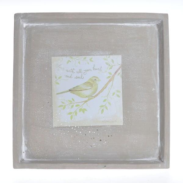 Keramický podnos Bird, 28.5 cm