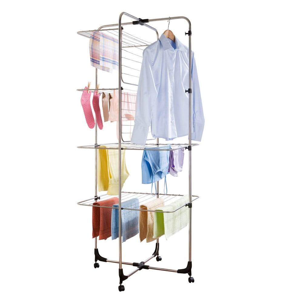 Čtyřposchoďový sušák na prádlo Wenko Laundry