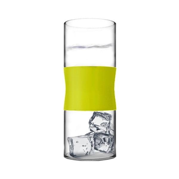 Sklenice z borosilikátového skla, limetkové, 380 ml, 2 ks