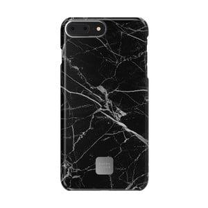 Černo-šedý ochranný kryt na telefon pro iPhone 7 a 8 Plus Happy Plugs Slim