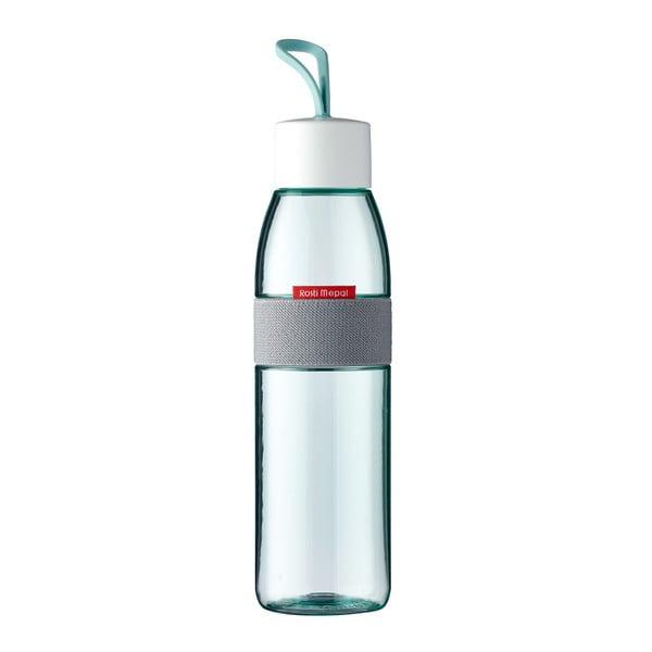 Turkusowa butelka na wodę Rosti Mepal Ellipse, 500 ml