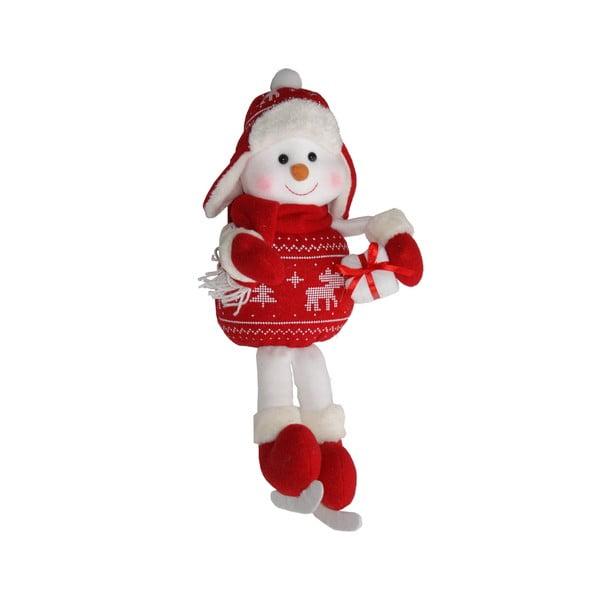 Dekorativní soška Sitting Snowman