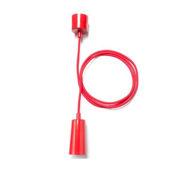 Závěsný kabel Plumen Drop Cap, červený