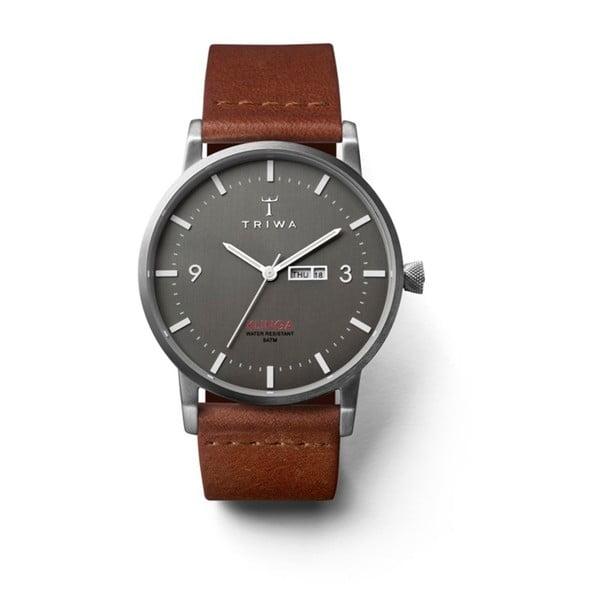 Unisex hodinky s koženým řemínkem Triwa Dusk Klinga