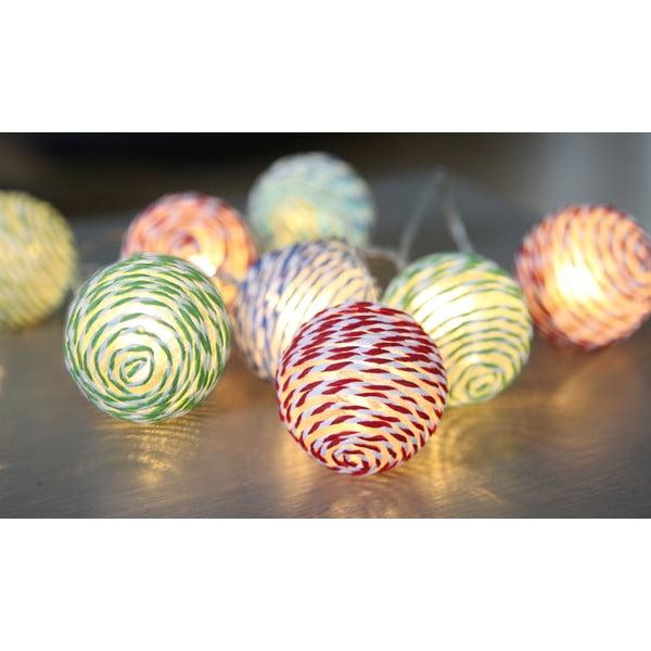 Osvětlení Striped Balls