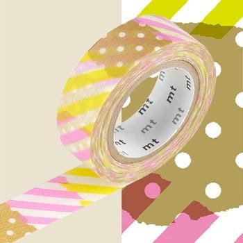 Bandă decorativă Washi MT Masking Tape Deline, rolă 10 m de la MT Masking Tape