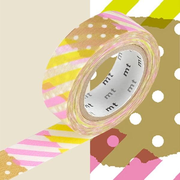 Taśma dekoracyjna washi MT Masking Tape Deline, dł.10m