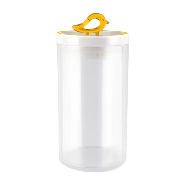 Žlutá dóza Vialli Design Livio, 1,2 l