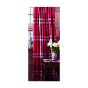 Červené závěsy Catherine Lansfield Kelso, 168x183cm