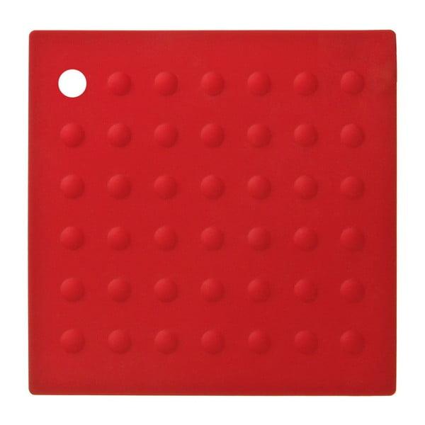 Červená silikónová podložka pod hrnce Premier Housowares Zing