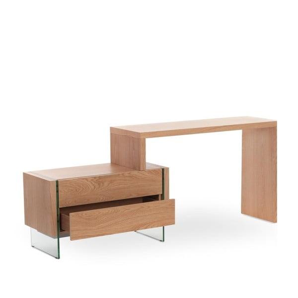 Pracovní stůl z dubového dřeva Ángel Cerdá Retro