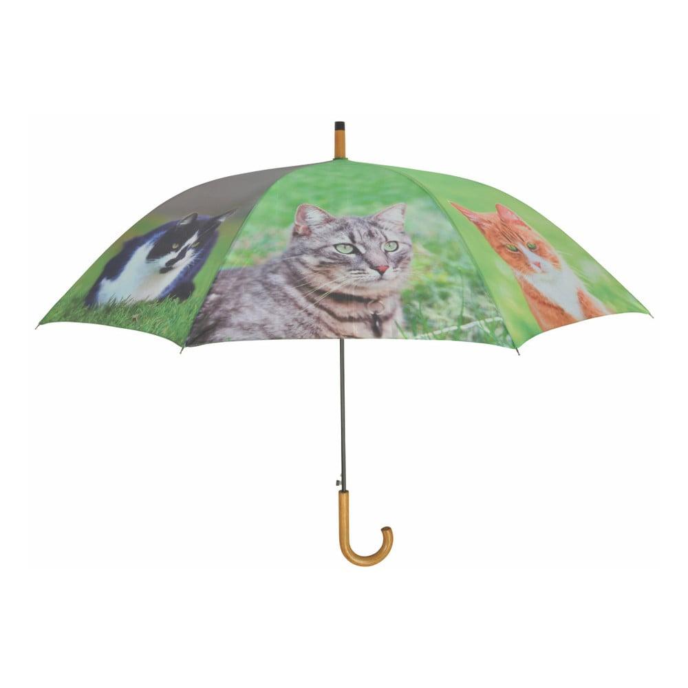 Deštník s potiskem kočky Esschert Design, ⌀ 120 cm