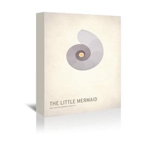 Obraz na plátně The Little Mermaid With Text od Christiana Jacksona