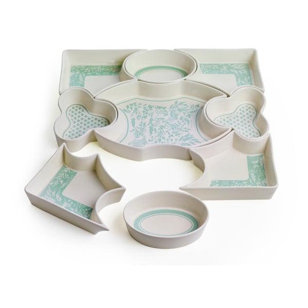 Porcelánový set nádobí Brandani Alice, 9 dílů