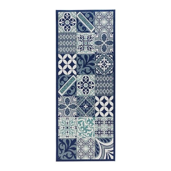 Accent kék konyhai futószőnyeg, 80 x 200 cm - Zala Living