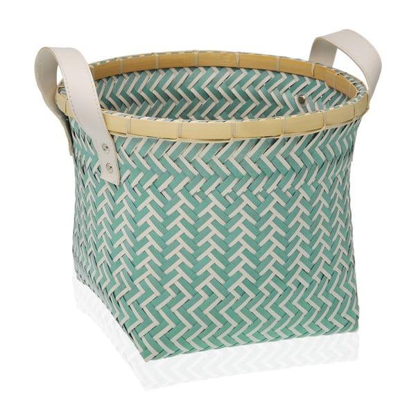 Zielony koszyk Versa Redondo, 29x29 cm