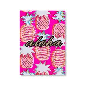 Linkovaný sešit s tvrdou vazbou Tri-Coastal Design Aloha, 96 stran