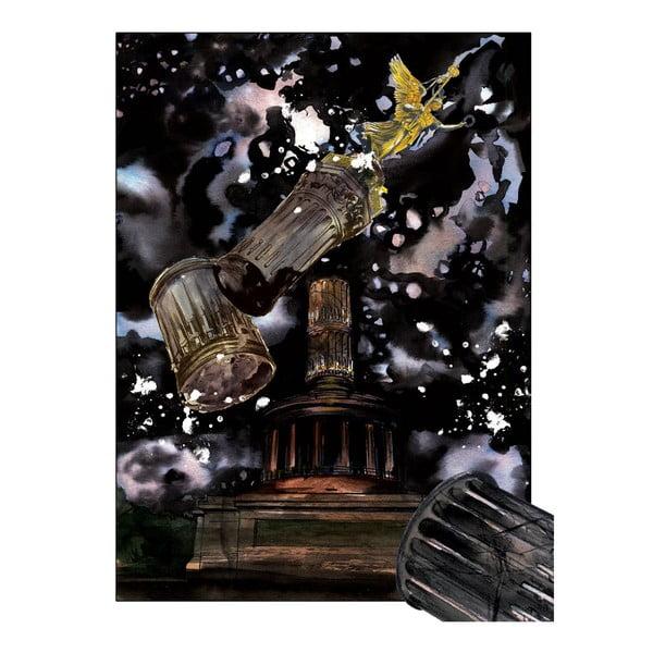 Autorský plakát od Toy Box Bomby vybuchují nad Berlínem, 60x80 cm