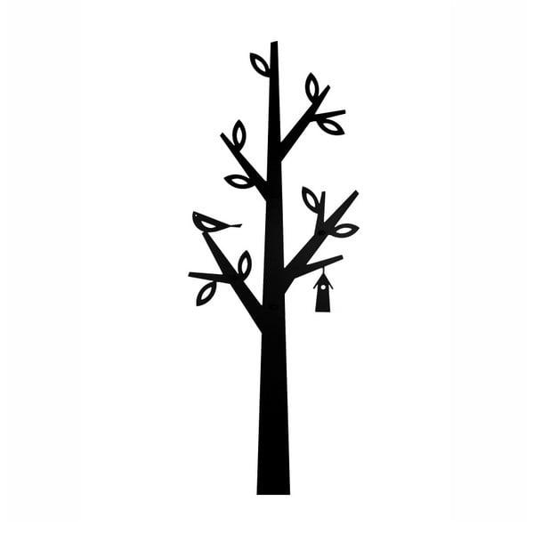 Černý kovový věšák Nørdifra Tree
